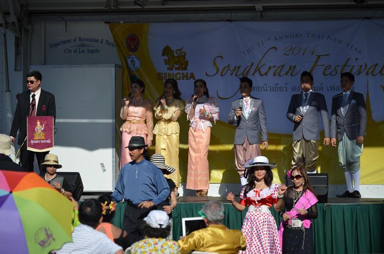 Тайский фестиваль еды в Лос Анджелесе