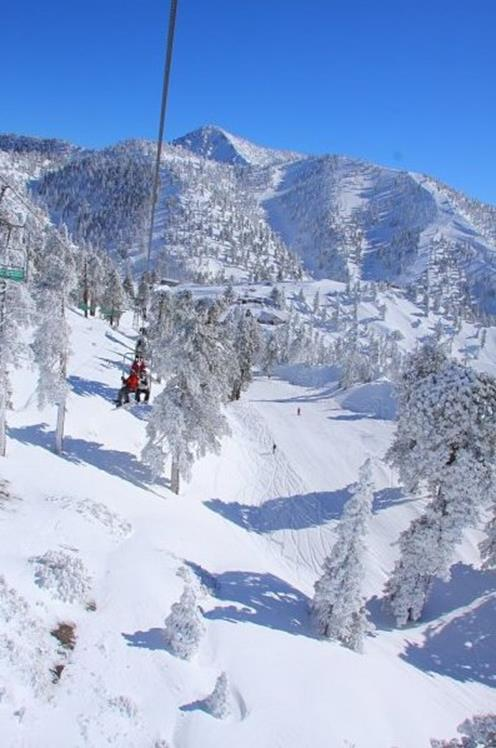 Mt Baldy ski resort