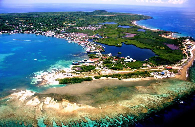 Дайвинг на острове Ютила в Гондурасе