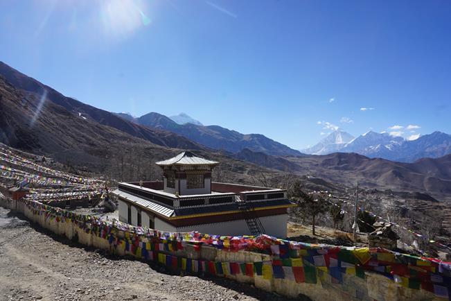 Переход через перевал Thorung La