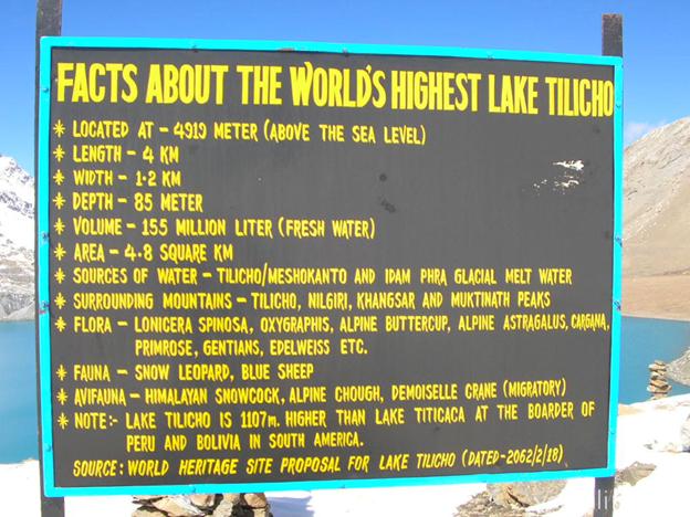 Тропа к озеру Тиличо